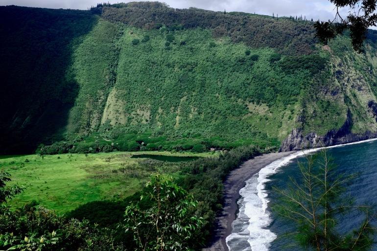 Waipio vallée Hawaii